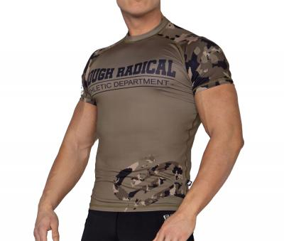 ROUGH RADICAL Herren Funktions T-Shirt Fitness Rashguard RASH